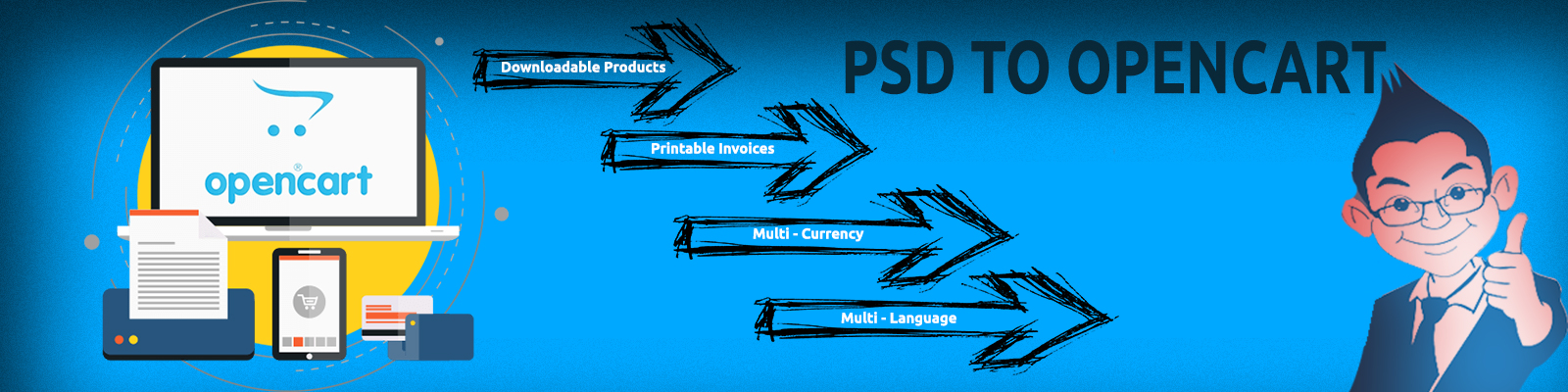 psd to opencart conversion services